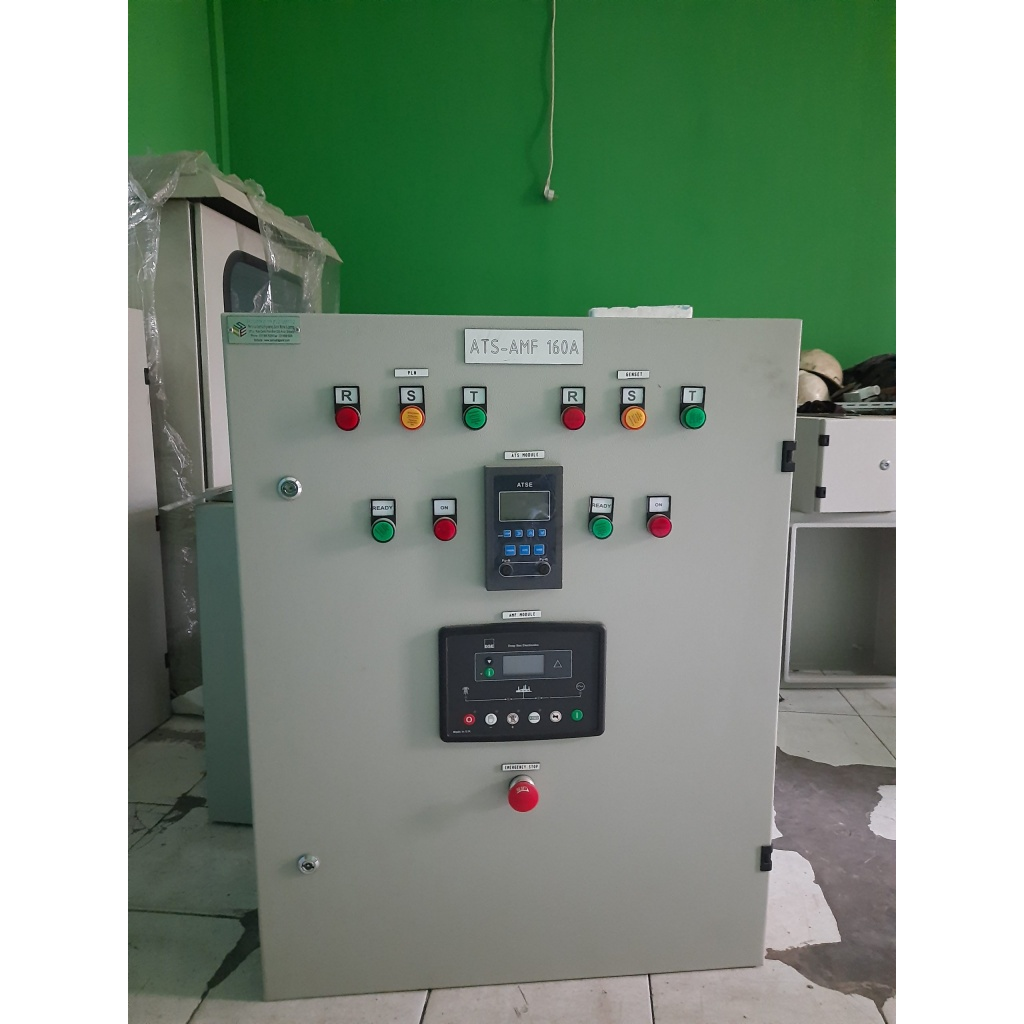 panel ats amf 125 kva