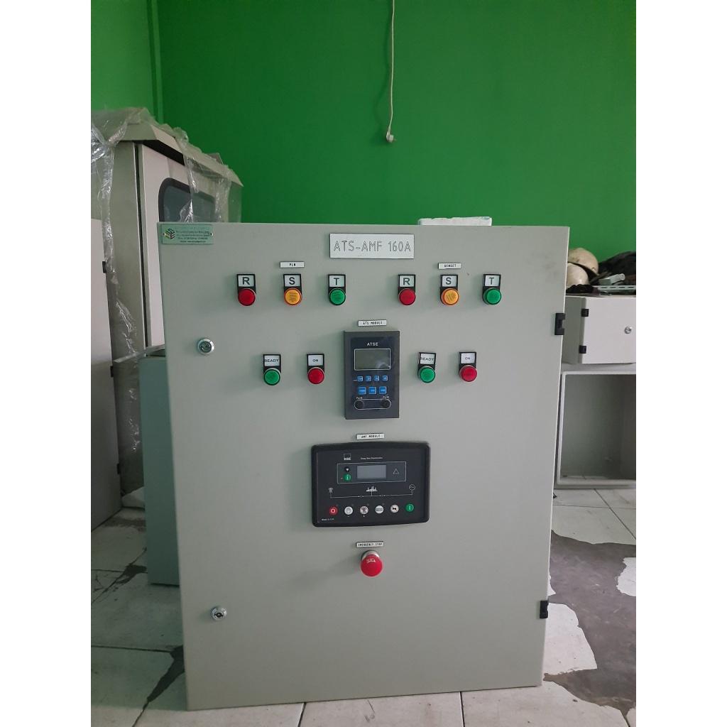 panel ats amf 160 kva