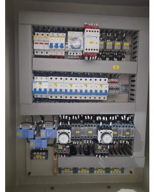 panel motor star delta 4 kw