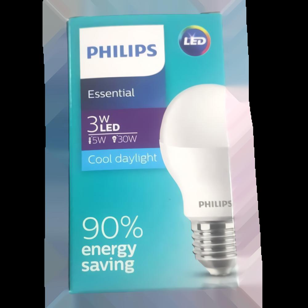 Bola lampu LED Essensial Ekonomis 3w Putih