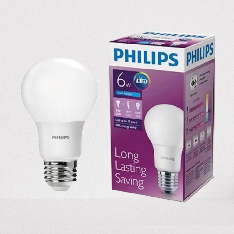 LED BULB Standard 6w Putih