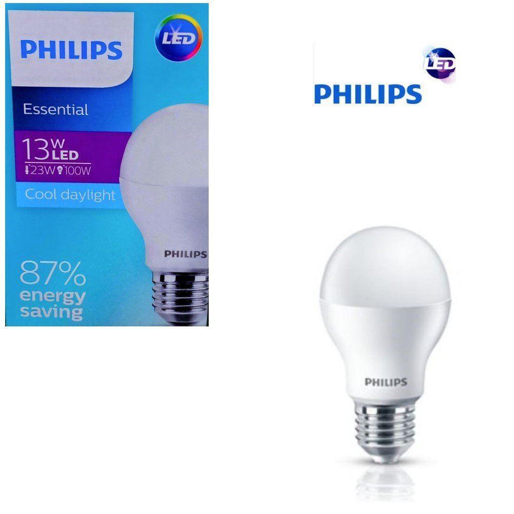 Bola lampu LED Essensial Ekonomis 13w Putih