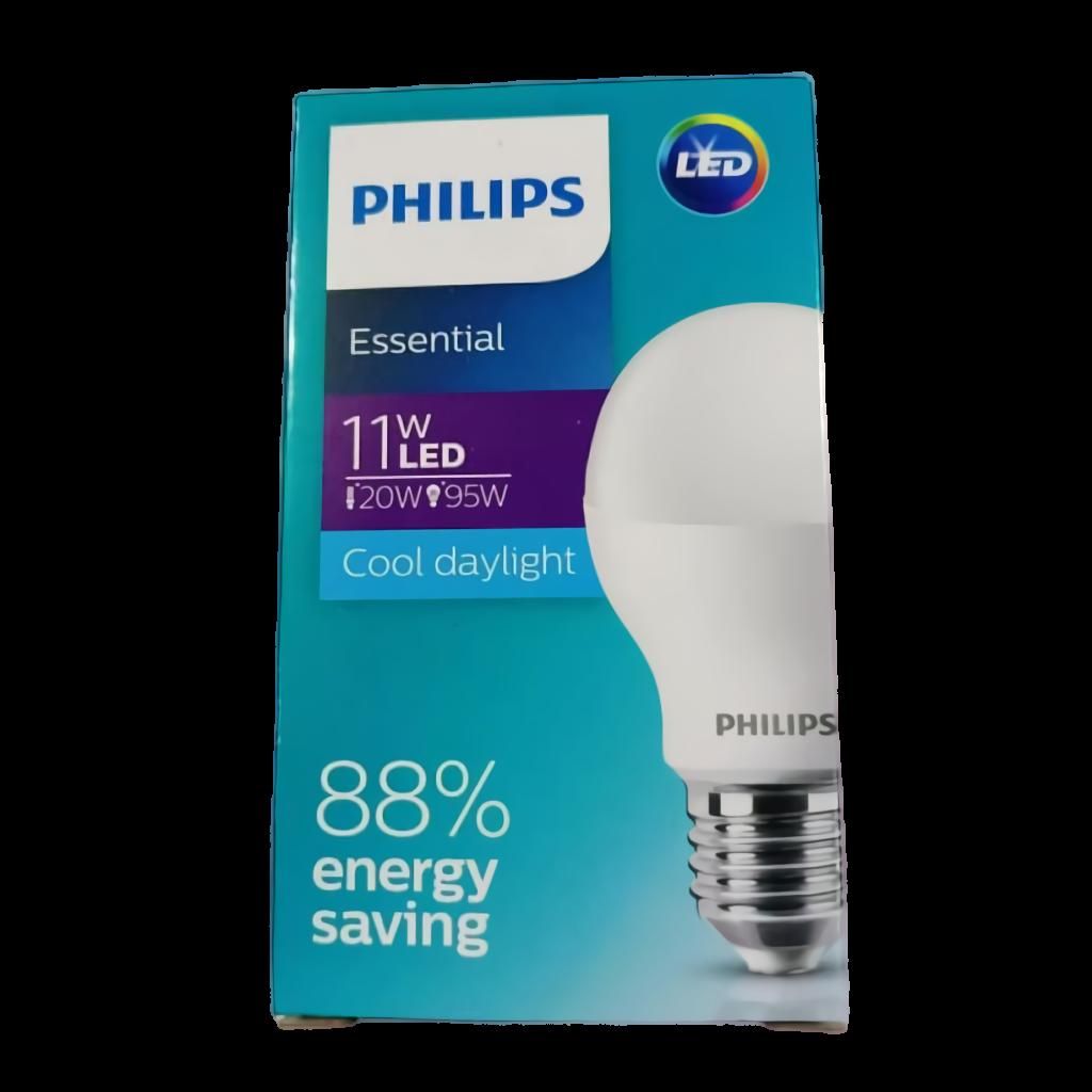 Bola lampu LED Essensial Ekonomis 11w Putih