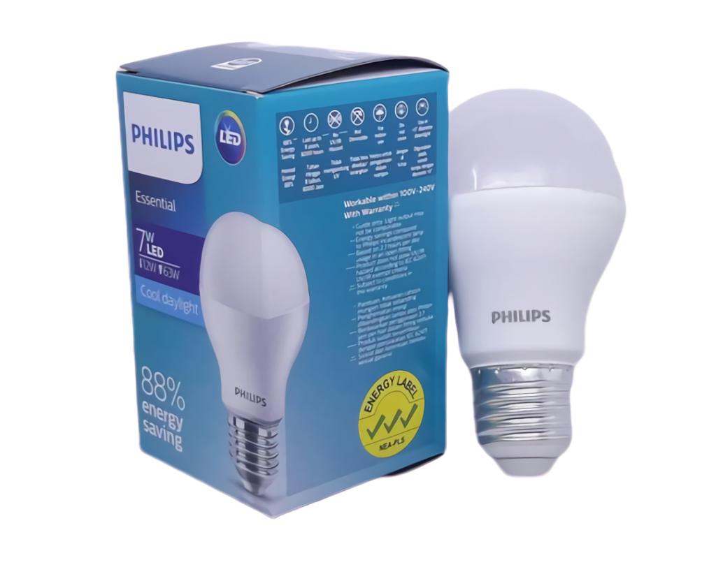 Bola lampu LED Essensial Ekonomis 7w Putih