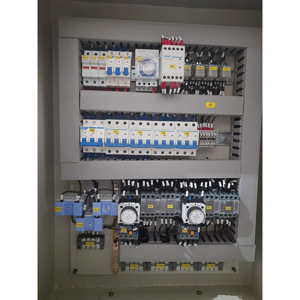 panel motor star delta 11 kw