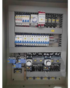panel motor star delta 132 kw