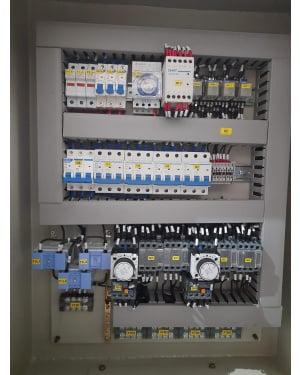 panel motor star delta 15 kw