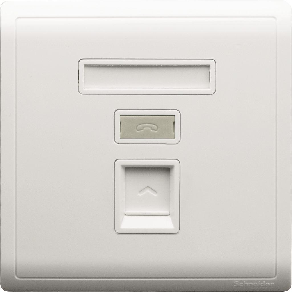 Outlet Data CAT5e Pieno Putih E8231RJS_5_WE_G1