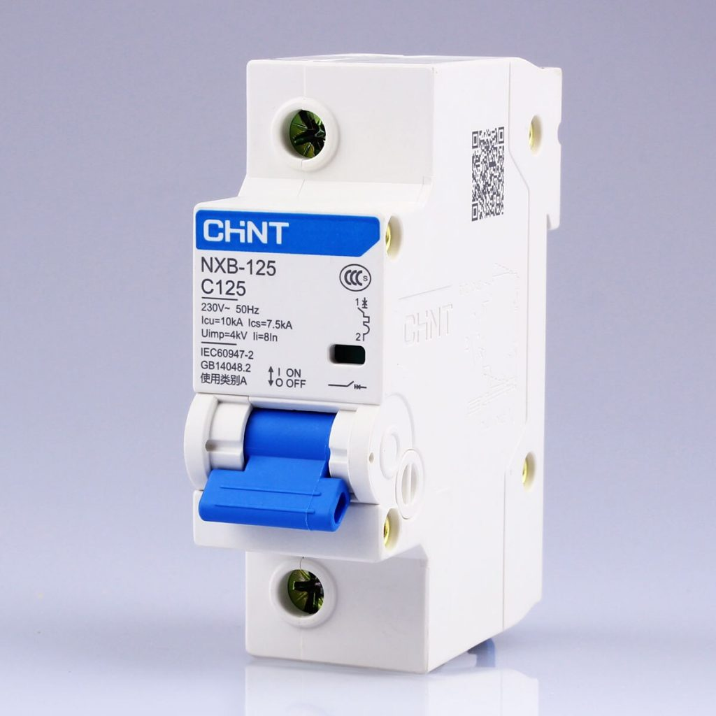 CHNT-Chint-NXB-125-1-P-63A-80A-100A-125A-230-V-220-V-50Hz-Miniature