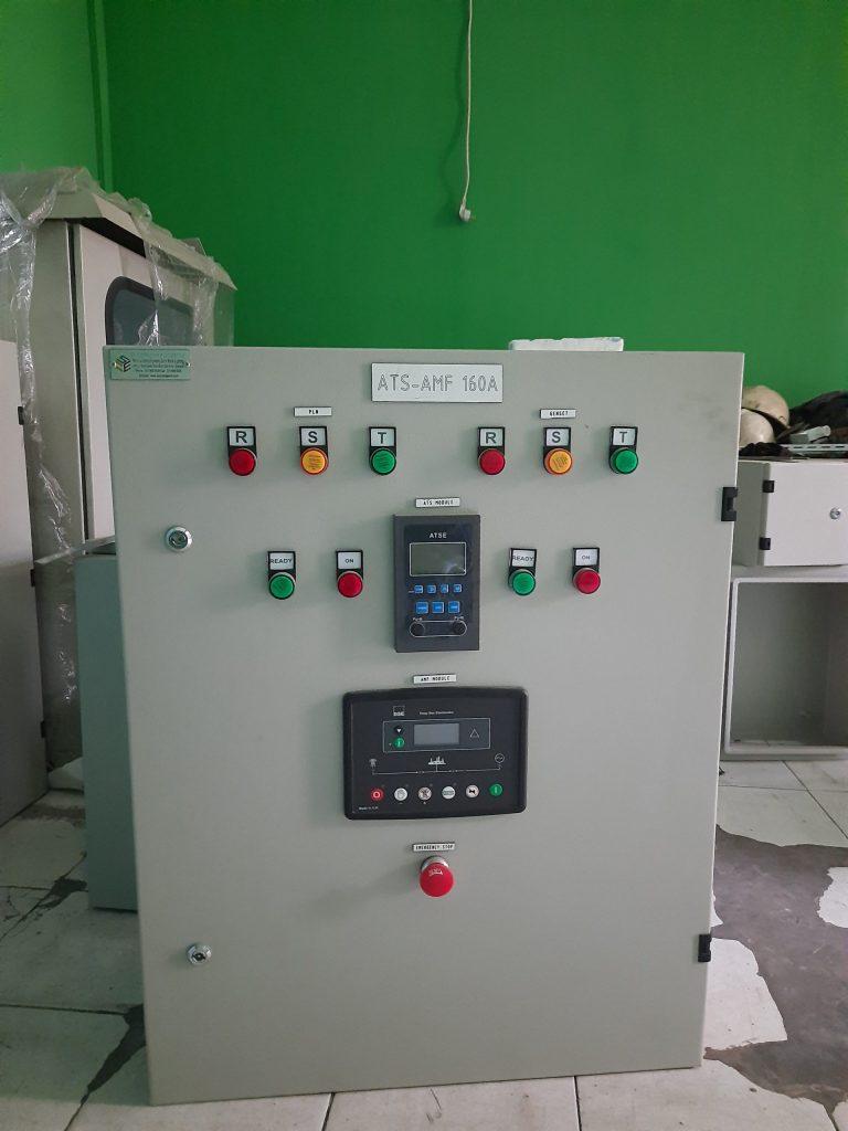 panel ats amf 70 kva